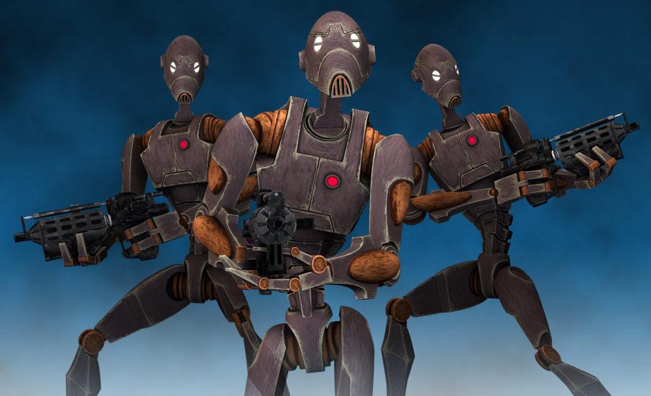 картинки армии дроидов даже