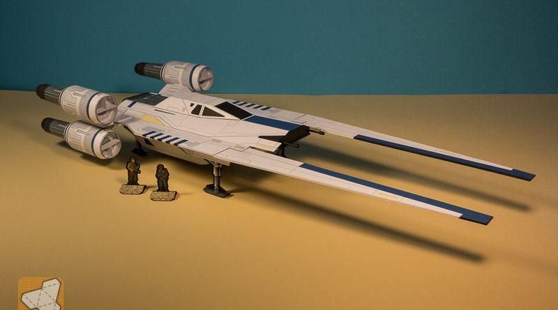 Millennium falcon из бумаги 134