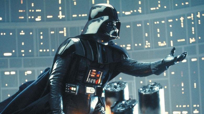 Бюст Дарта вейдера застрявшего в текстурах / Bust of Darth Vader stuck in textures