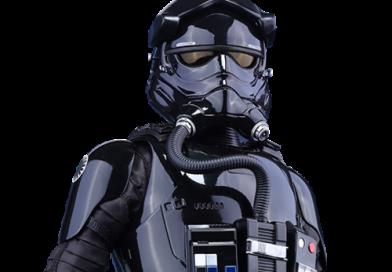 Шлем штурмовика пилота Первого ордена/ First order stormtrooper pilot helmet.