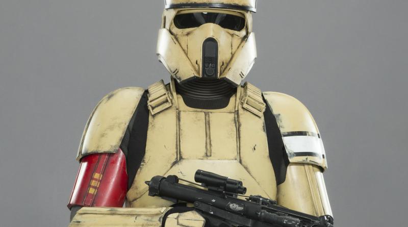 Броня Скарифского (Берегового) штурмовика (Изгой Один) Rogue One Shoretrooper Armour